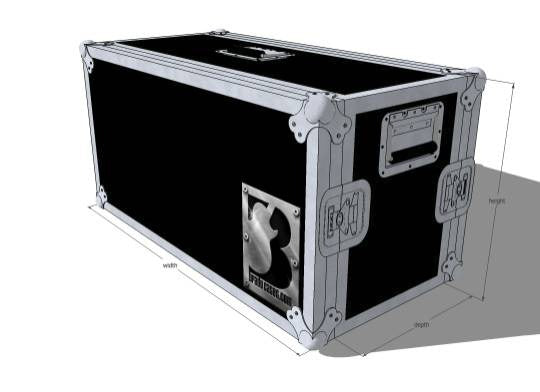 Head Live-in Amp - Brady Cases - 1