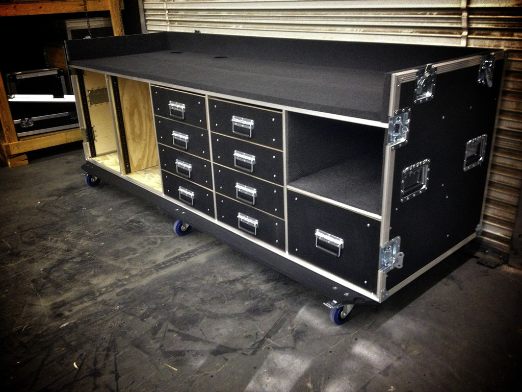 Mixer/Rack case - Brady Cases - 16