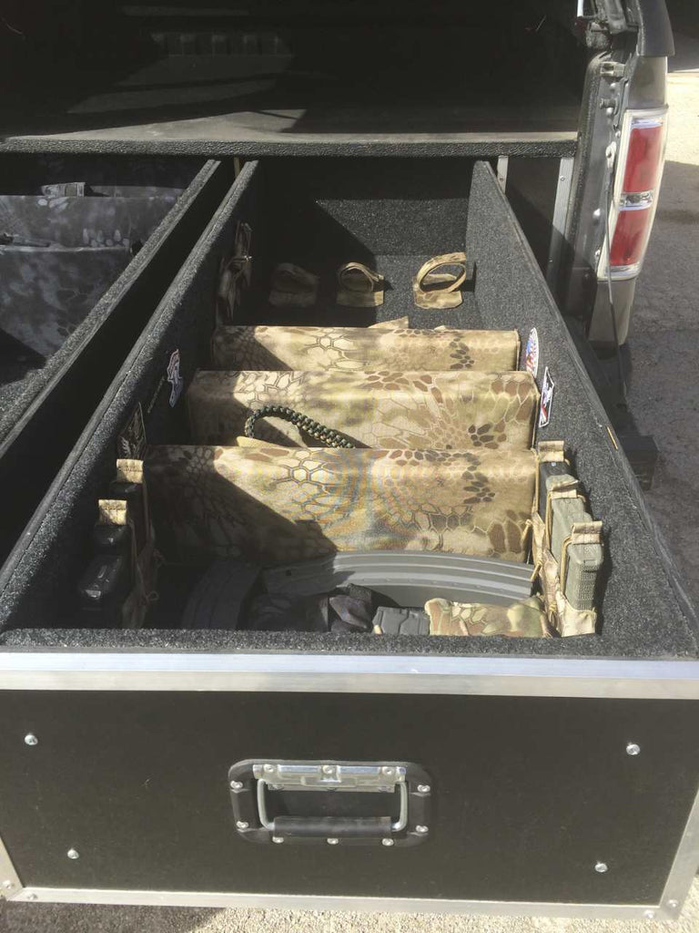Truck weapon storage - Brady Cases - 6