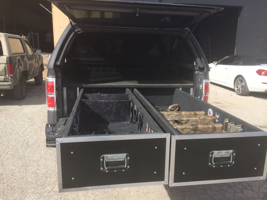 Truck weapon storage - Brady Cases - 5