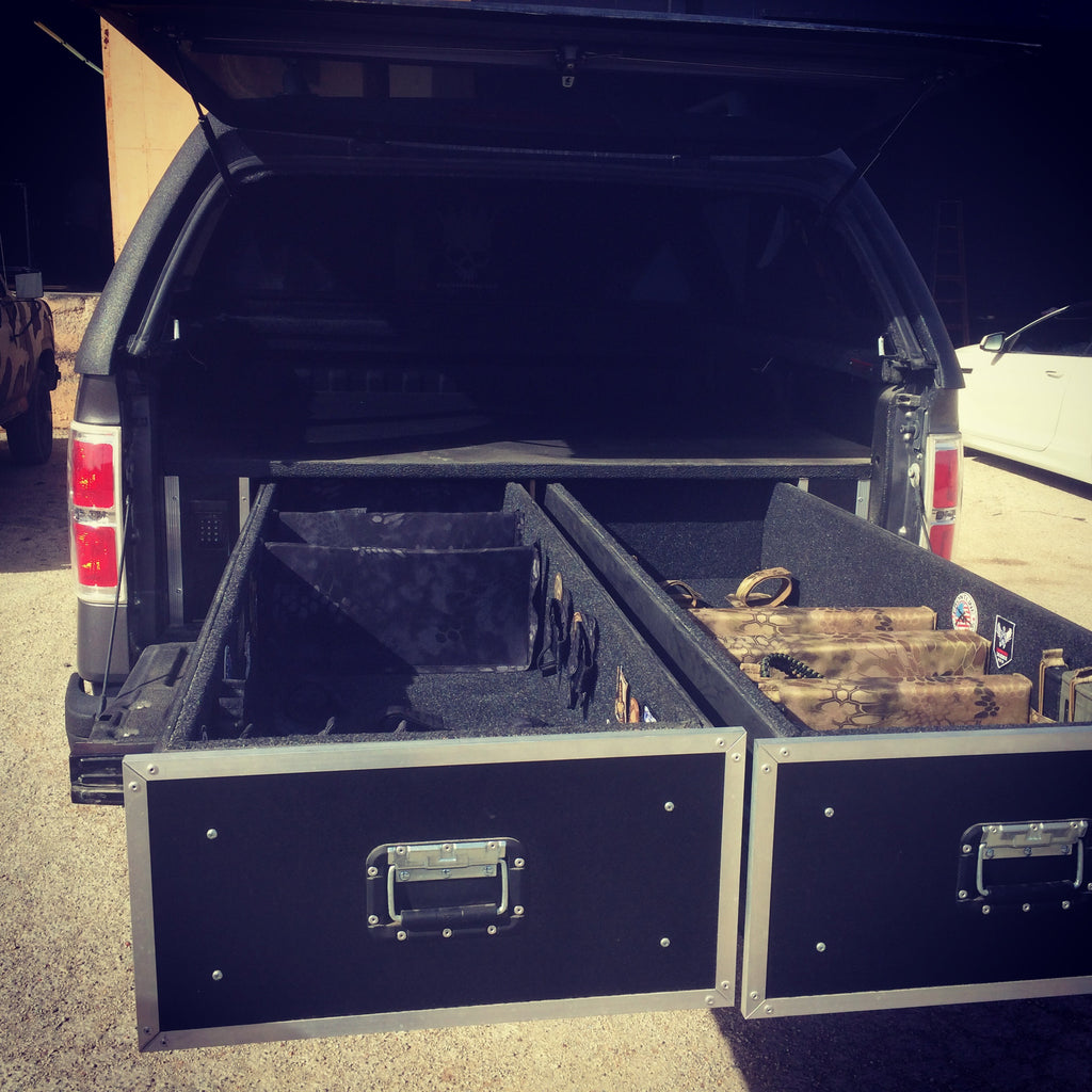 Truck weapon storage - Brady Cases - 4