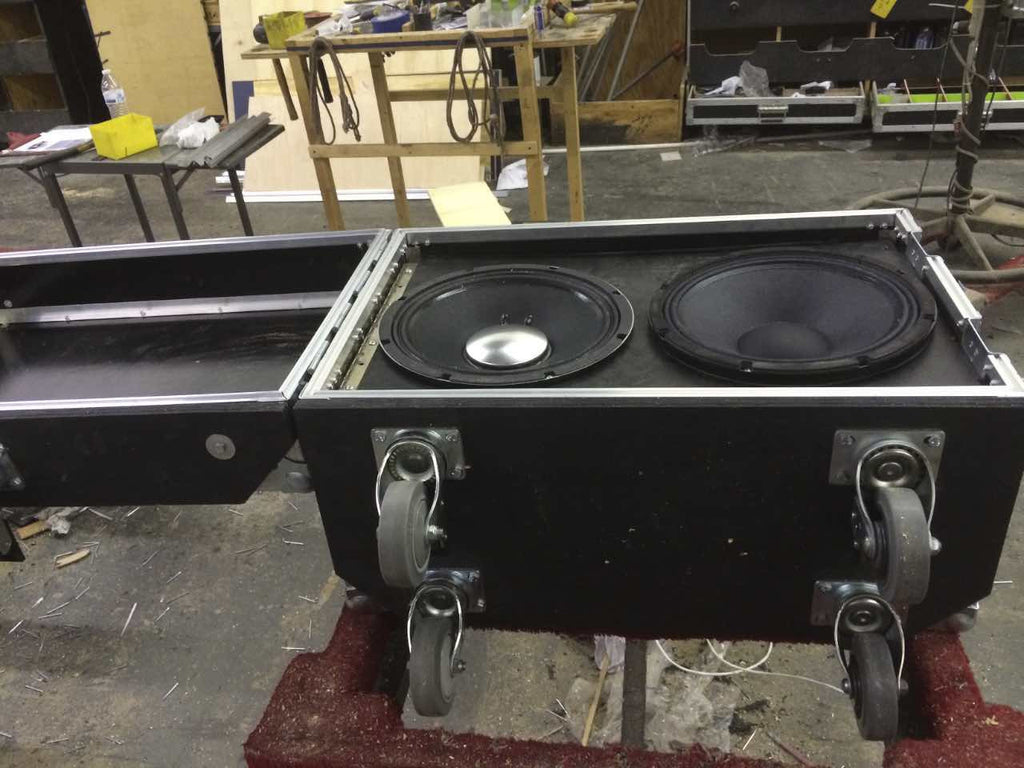 Standard ISO stereo cab case - Brady Cases - 2