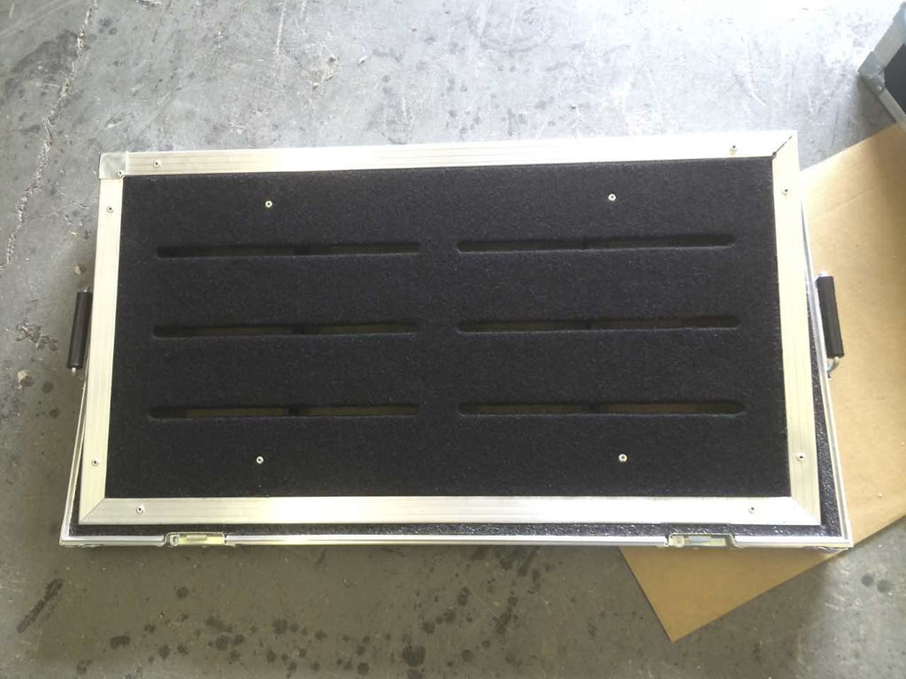 Routed top upgrade for pedal boards - Brady Cases - 8