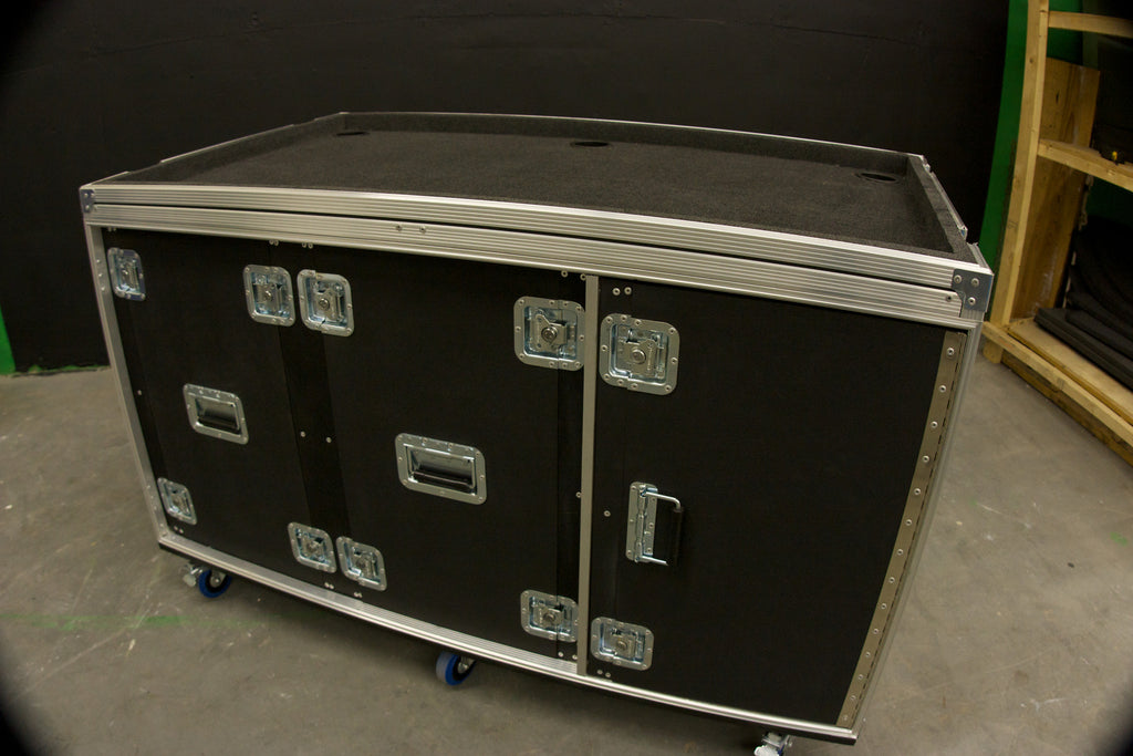 Mixer/Rack case - Brady Cases - 24