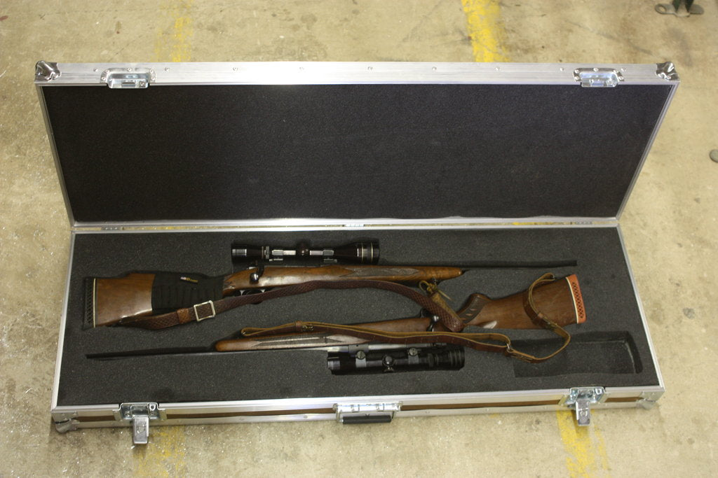 Double Rifle Case - Brady Cases - 1