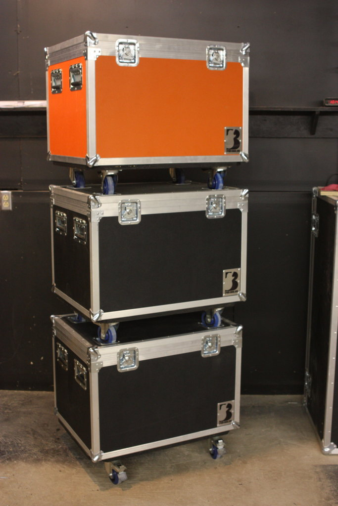 Make Cases Stackable - Brady Cases - 2