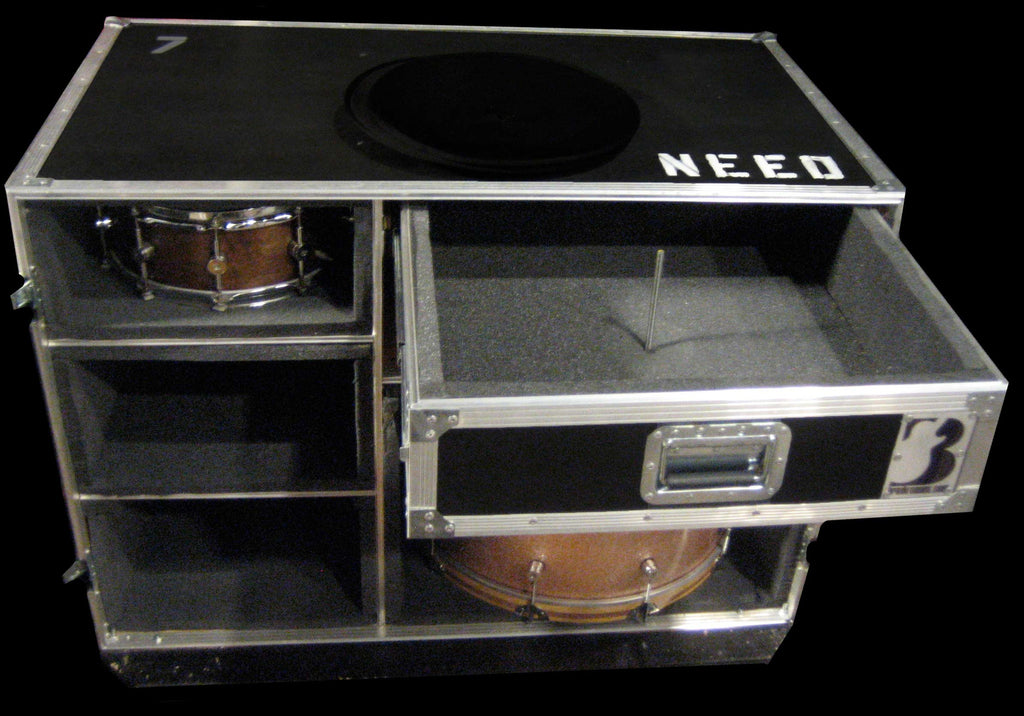 Drum Case Trunk or Vault - Brady Cases - 11