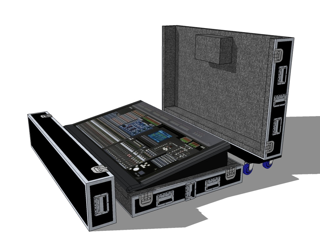 Yamaha PM5D Mixer Case - Brady Cases - 2
