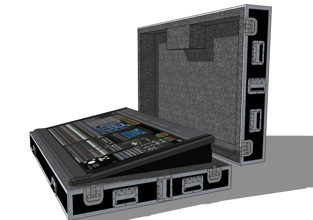 Yamaha PM5D Mixer Case - Brady Cases - 5