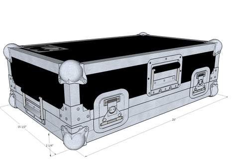 Temple Audio Design Duo 34 Pedal Board Case Duo-34