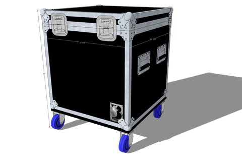 Trunk 1/3 Truck Pack Case