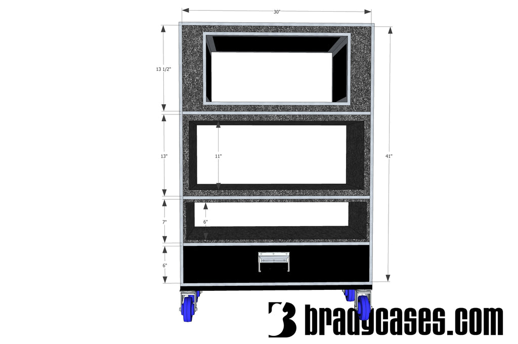 Head, pedal board, rack, drawer case