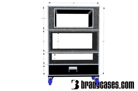 2x12 Lift Off Amp Case or Cab ATA Case