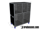Drum Case Trunk or Vault - Brady Cases - 1