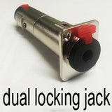 Locking Neutrik Jack - Brady Cases - 3