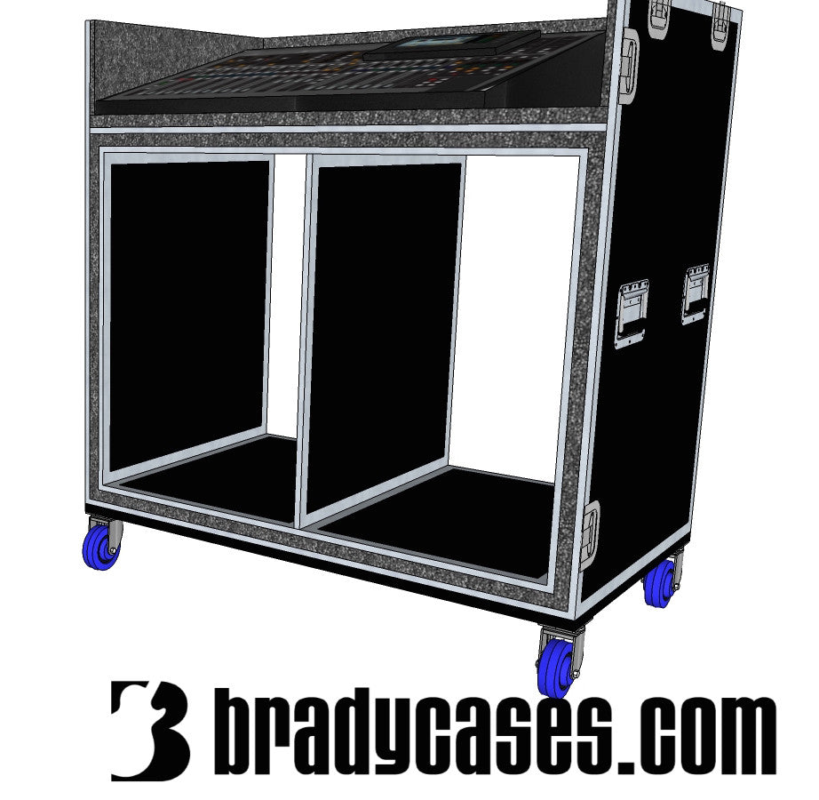 Mixer/Rack case - Brady Cases - 15