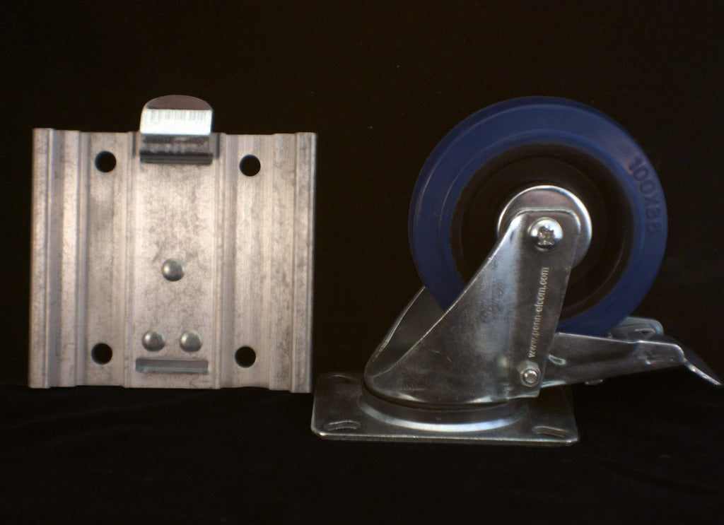 Removable Caster Plate - Brady Cases - 1