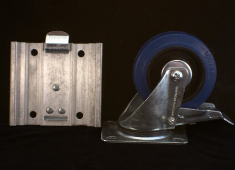 Removable Caster Plate