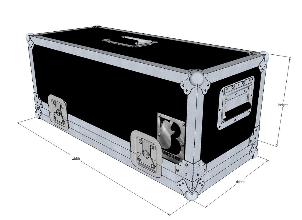 Head Lift-Off Amp Case - Brady Cases - 1