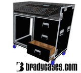 Mixer/Rack case - Brady Cases - 1