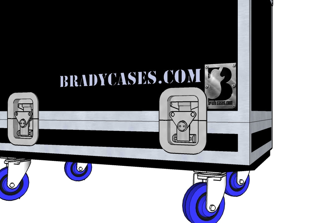 Letter Stenciling - Brady Cases - 1