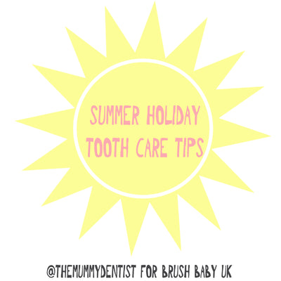 Summer Holiday Blog with The Mummy Dentist (Dr Jemma Hook)