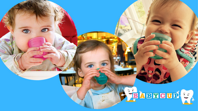 How to help little ones master drinking when weaning