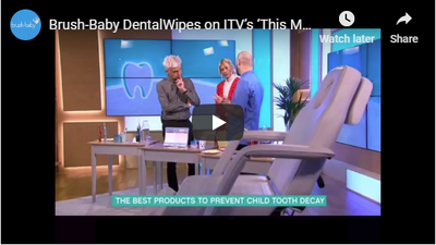 Brush-Baby DentalWipes On ITV's 'This Morning'