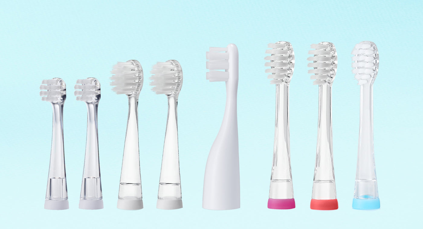 BrushBaby Replacement Brush toothbrush heads