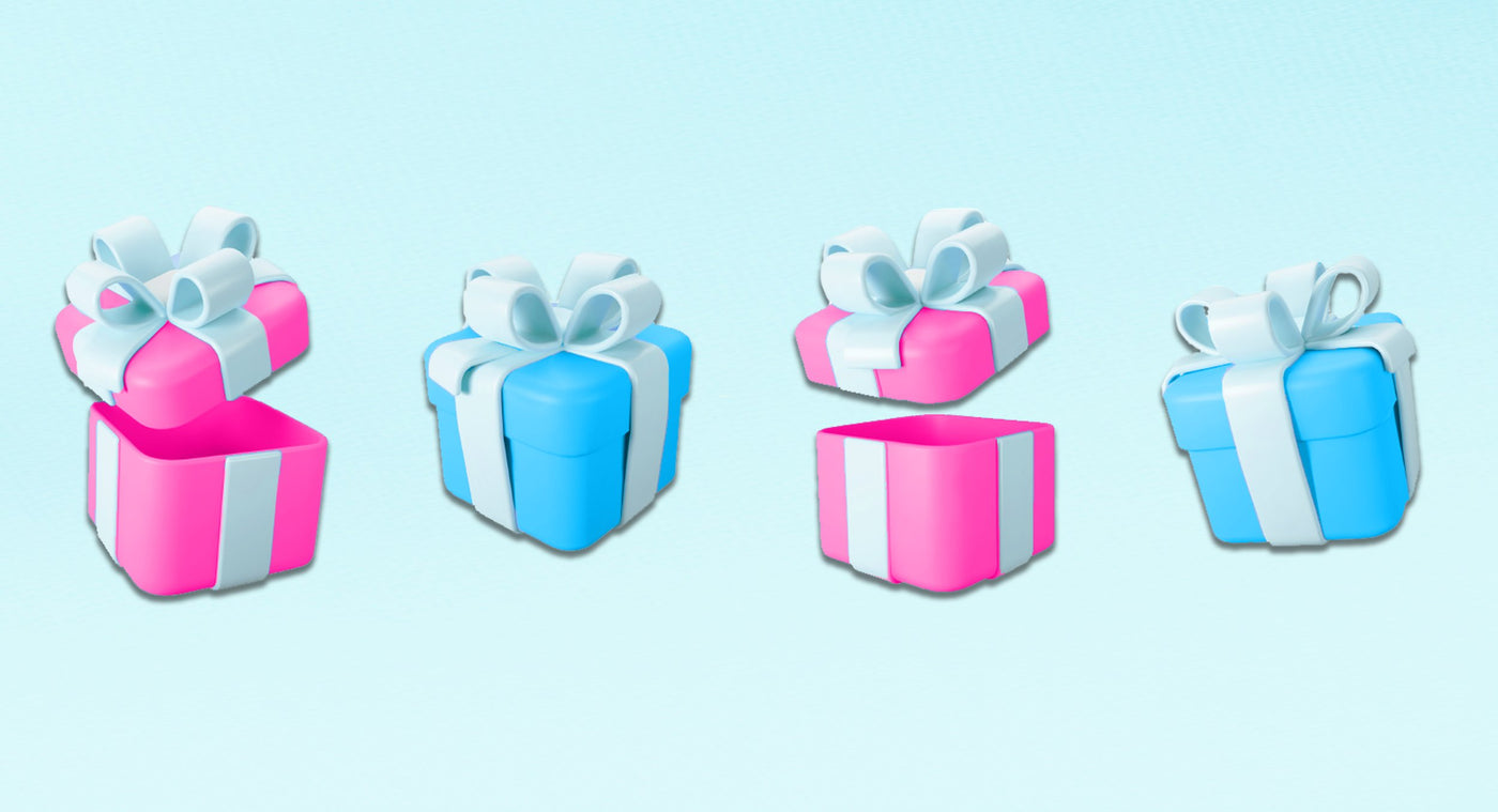 teething and toothcare gift sets