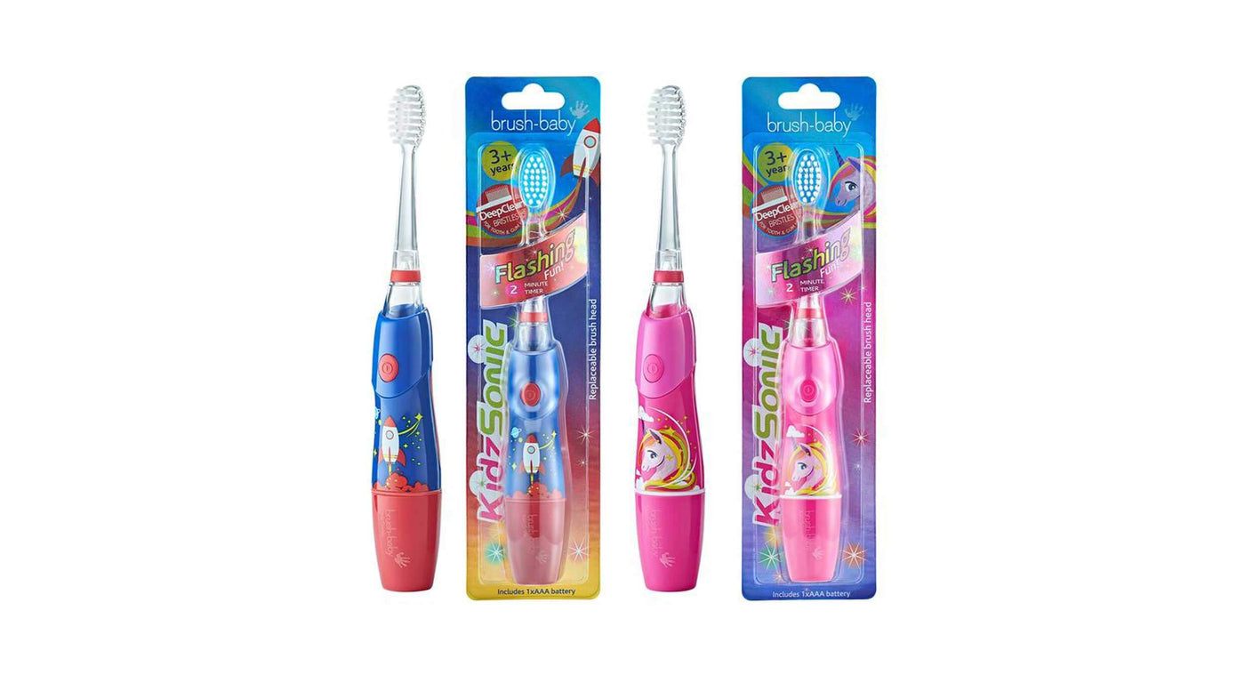 Kidzsonic Rocket & Unicorn Electric Toothbrushes