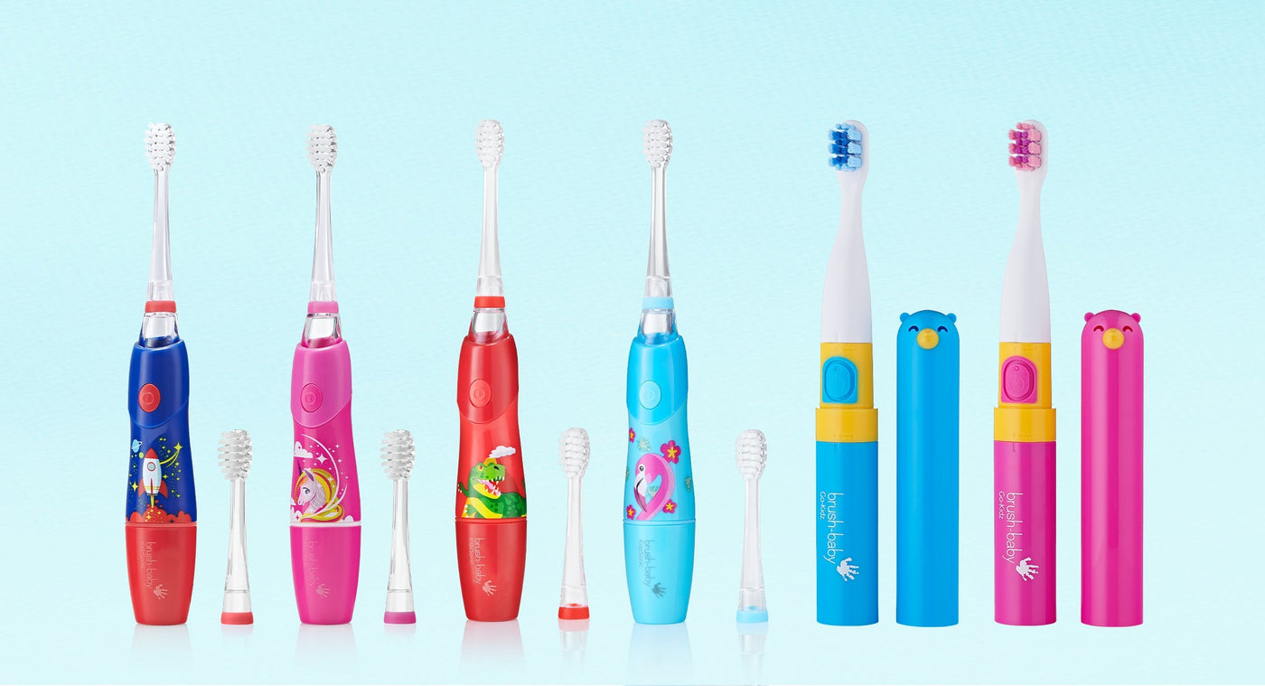 Brushbaby Electric Toothbrush collection
