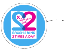 Brush Baby Campaigns Brush 2 Mins 2 Times a Day