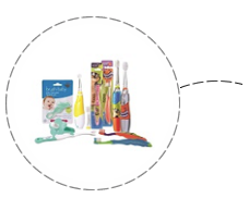 Brush Baby Products - innovative toothcare for Babys and Children