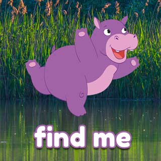 Holly the Hippo Find me Activity