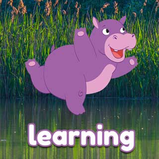Holly the Hippo learning Activity