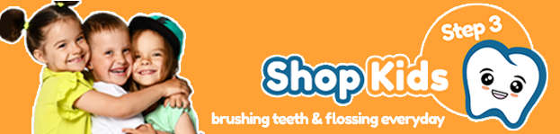 Step 3 - Child toothcare - keeping childrens teeth clean with Brush Baby