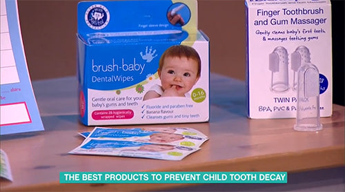 dentalwipes on this morning ITV