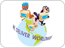 we delivery worldwide Brush-Baby deliveries to my country