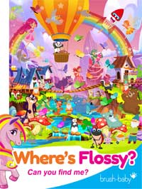 Flossy the Unicorn color find flossy activity