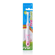 FirstBrush - BrushBaby Pink colour best baby toothbrush pack