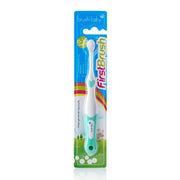 FirstBrush - BrushBaby Teal colour best baby toothbrush pack