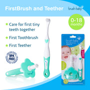 My FirstBrush & Teether Set (0-18 months) - BrushBaby