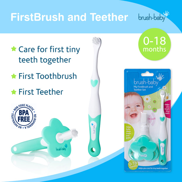 My FirstBrush & Teether Set (0-18 months)