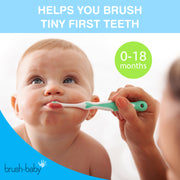 FirstBrush (0-18 months) - Teal - BrushBaby