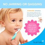 FlossBrush (0-3 Years) - Pack of 4 Pink