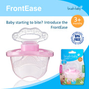 FrontEase Teether (3+months) - Pink - BrushBaby