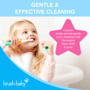 Brush-Baby Go-Kidz Electric Toothbrush - Teal - BrushBaby
