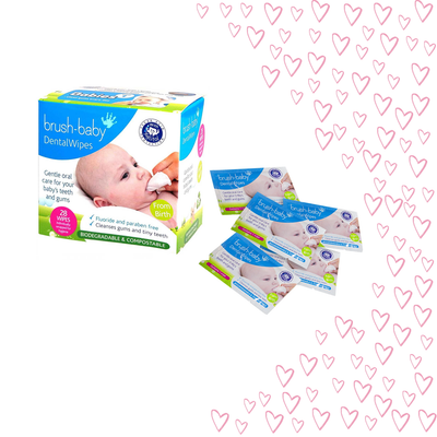 3 for 2 valentines day on biodegradable DentalWipes