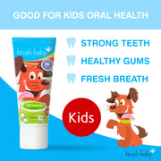 Kids' Mild Spearmint Toothpaste (6+ Years) - BrushBaby